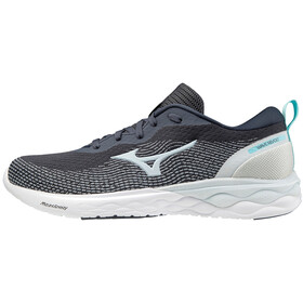 Mizuno Wave Revolt Shoes Women, niebieski/biały